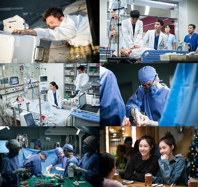 [간밤의 TV] 흉부외과 고수, 심장가져오다 교통사고 당해··· 0.5% 차이로 시청률 2위
