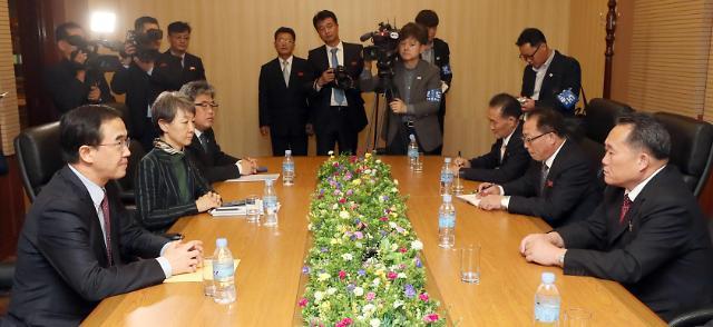 韩朝将于15日举行高级别会谈 讨论落实《平壤宣言》