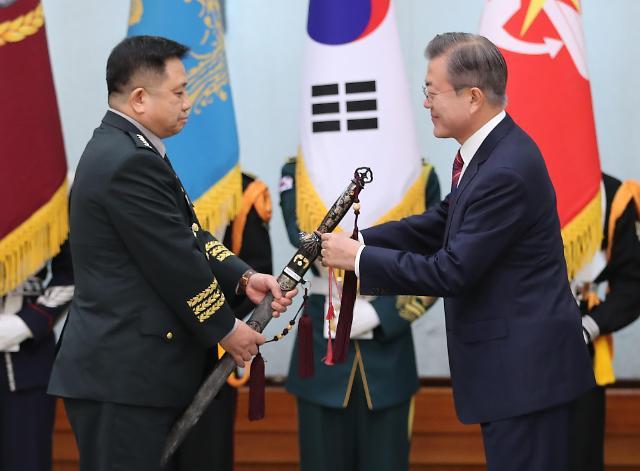 文在寅:韩朝打造西部海域和平区意义深远