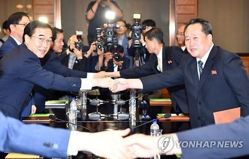 韩朝15日举行高级别会谈