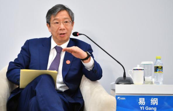 """이강 """"중국 통화정책 수단 아직 있다...무역전쟁? 대외개방 지속"""""""