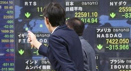 [줌]日 닛케이 1.87% 하락 마감