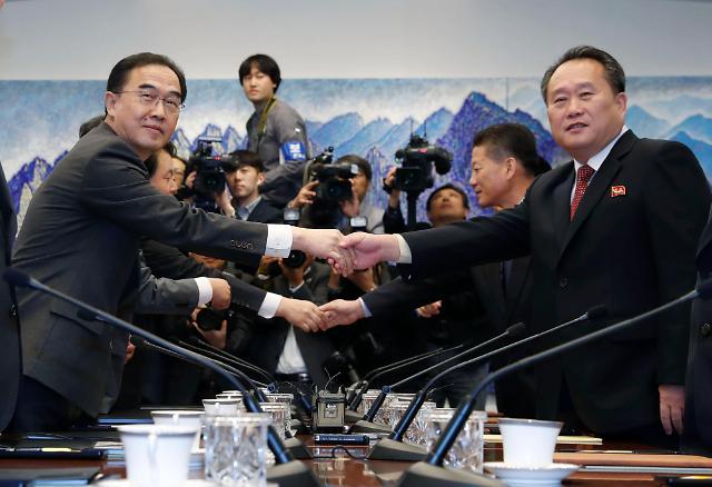 韩朝22日举行山林领域合作会议