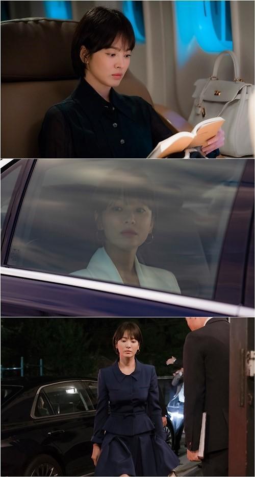"tvN新剧《男朋友》公开宋慧乔片场照 温婉""乔妹""变身女强人"