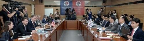 韩美再开驻军费分担谈判找交集