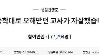 '김포맘카페 사건' 관련 청와대 국민청원 7만명 넘었다…