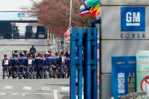 劳资矛盾激化 韩国通用公会或将举行大规模罢工