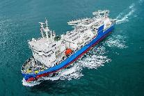 現代尾浦造船、エコ技術の初適用のLNGバンカーリング船の引き渡し