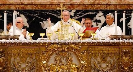[바티칸 한반도평화미사] 교황청 국무원장, 깜짝 한국어로 평화기원