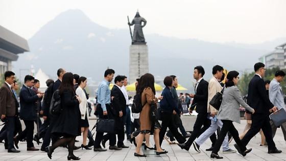 统计:韩月薪超6万职场人士四年增5倍