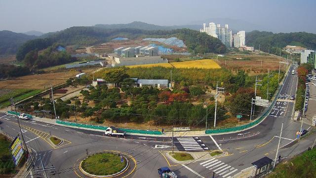 [용인시] 처인구 수포교앞삼거리 인근 450m 구간 확장 개통