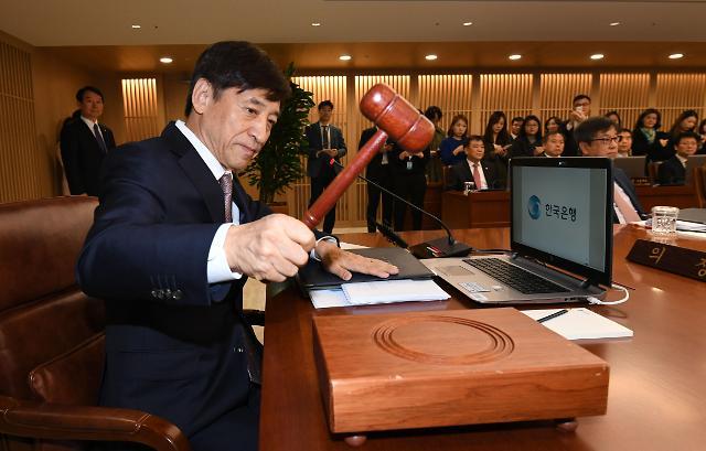 韩国银行连续7次将基准利率冻结为1.5%