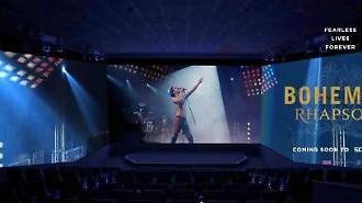 [영화가 소식] CGV, 보헤미안 랩소디 스크린X 개봉…레전드 퀸 무대 생생하게 담다