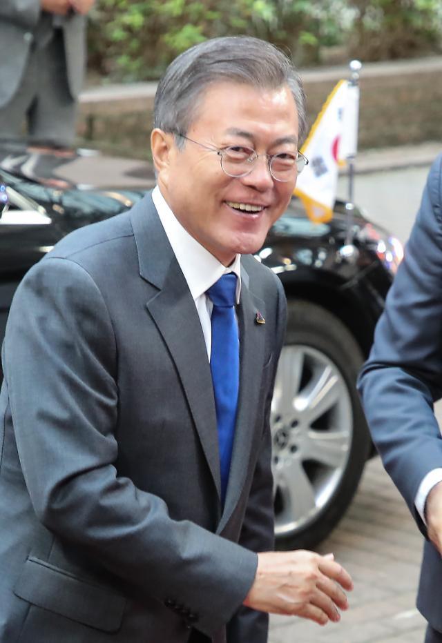"""문 대통령 """"한반도 평화는 아시아·유럽 공동번영으로 이어질 것"""""""