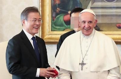 교황, 한반도평화 여정 큰 획 그을 듯