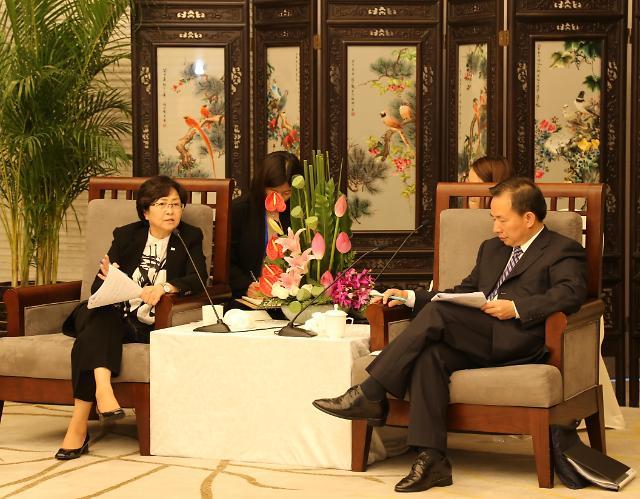 韩中环境部12月在韩首开局长级会议