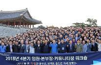 魏聖昊・新韓銀行長「既存の慣習を捨て、新たな挑戦に立ち向かうべき」