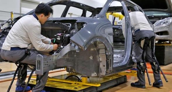 현대차, 산업용 웨어러블 로봇 개발 본격화
