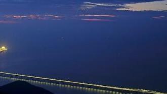 [포토] 세계 최장 해상대교