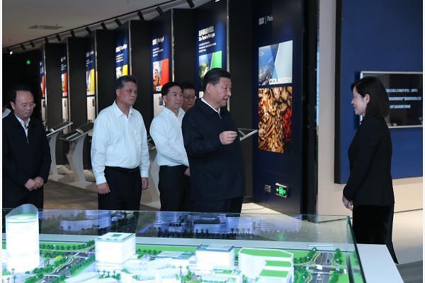 [중국포토] '新남순' 나선 시진핑, 6년만에 광둥성 시찰