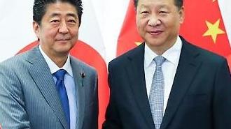 7년 만에 중국 찾는 日 아베 총리…'일대일로' 협력도