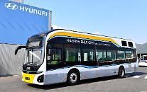 現代車の新型水素電気バス、国内初の「定期路線」投入