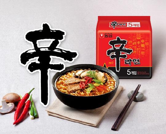 韩国辣味方便面香飘海外 征服美国吃货
