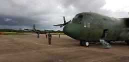 S. Korea military transport plane to bring back stranded tourists in Saipan