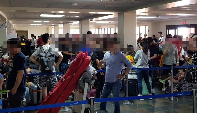 사이판 고립 한국인 관광객 내일(29일) 모두 귀국할듯…사이판공항 운영도 일부 재개
