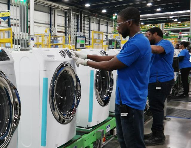 韩国产洗衣机在美市场占有率仍稳居前列