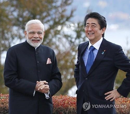 한손엔 중국 한손엔 인도 다자 외교 나선 아베 속뜻은?