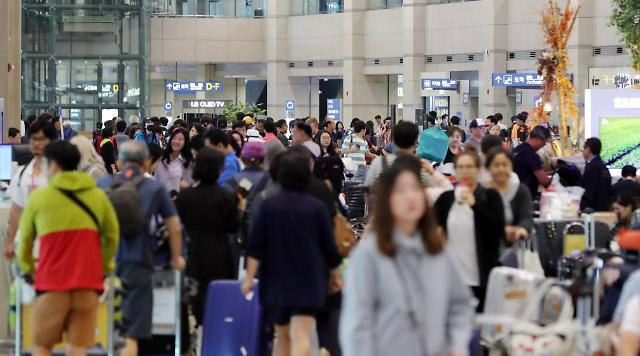 9名中国旅客在仁川机场互殴 或涉嫌违反韩国《航空安保法》