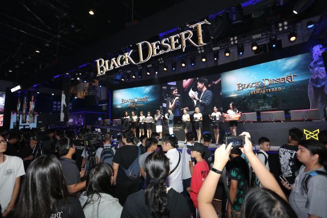 펄어비스 '검은사막', 태국 게임쇼 2018 '베스트 MMORPG 게임상' 수상