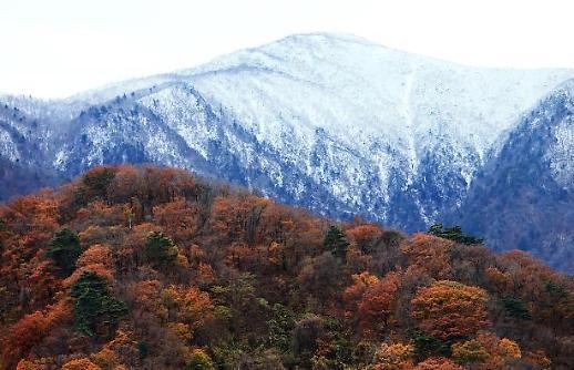 Mùa đông đến sớm tại Hàn Quốc