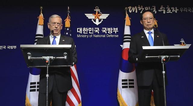 第50次韩美安保会议明日举行 共商移交作战指挥权问题