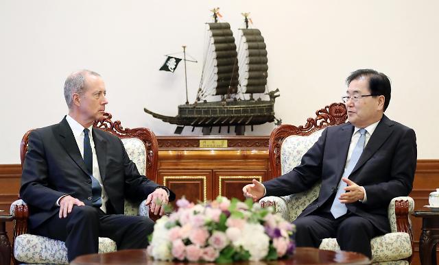 韩国安室长会见美对朝政策代表