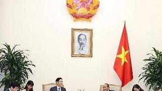 Thủ tướng Nguyễn Xuân Phúc tiếp Phó Chủ tịch tập đoàn Samsung tại Việt Nam