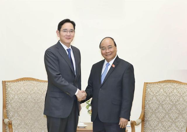 三星集团副会长:将持续扩大在越南投资规模