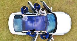 Hyundai auto group develops car solar energy system