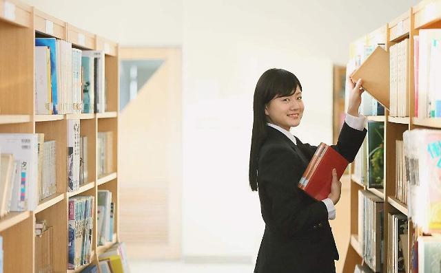 韩高中生图书阅读量为月均1.8本书