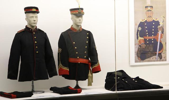 特别公开的大韩帝国军官军服