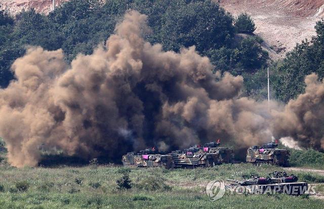 韩美海军陆战队明日开始展开联合训练