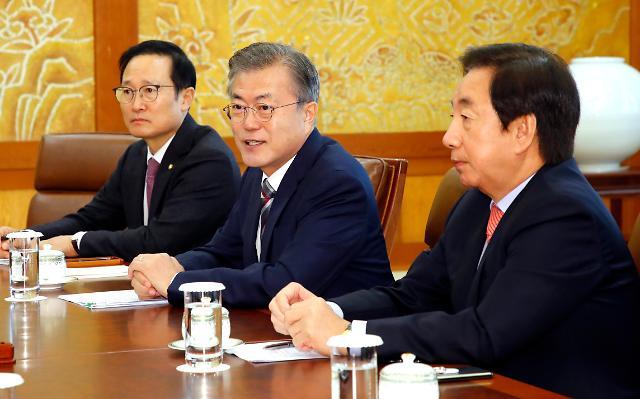 文在寅称视朝美对话进展情况协调金正恩访韩日程