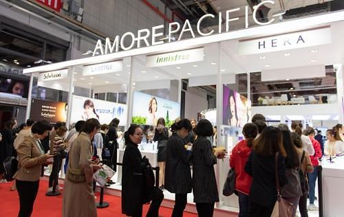 韩化妆品巨头爱茉莉太平洋参加中国进博会