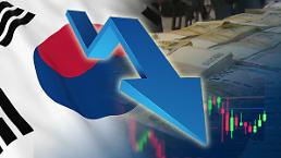 .韩智库分别下调韩国经济增速至2.7%和2.6%.