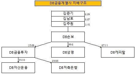 [줌인 엔터프라이즈] DB그룹, 금융 중심 재편성 성공···부활 준비 중