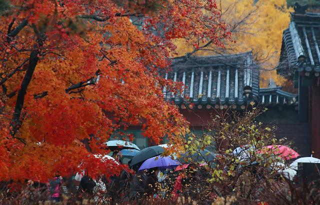 [내일 날씨] 미세먼지 일부 지역 나쁨…서울 9~16도