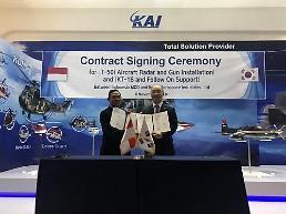 .韩印尼签署军售合同规模达6亿.