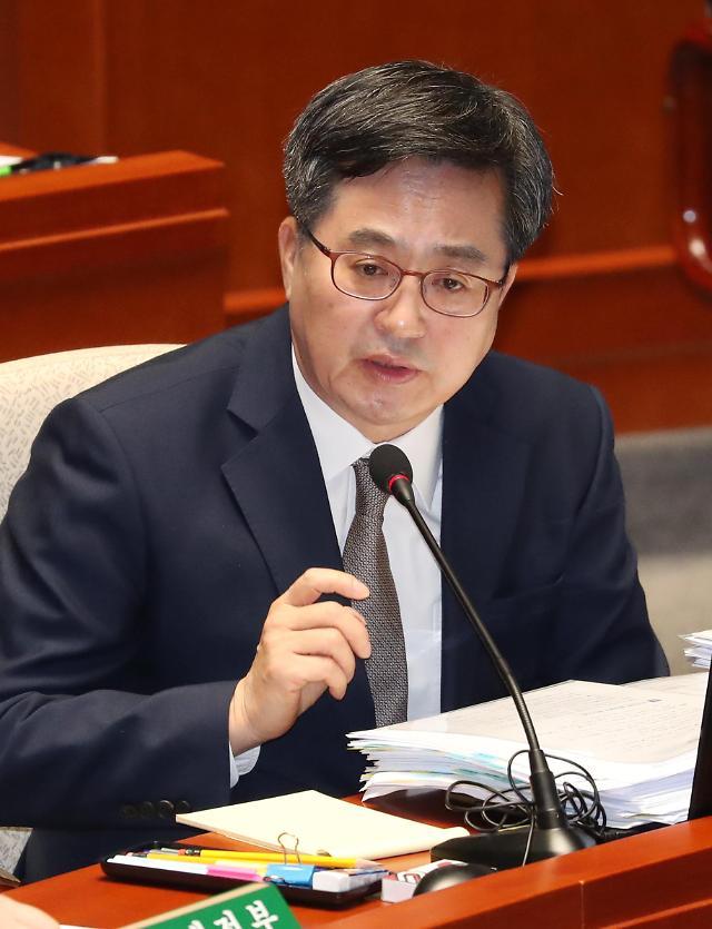 9일 김동연 교체...후임 홍남기 국무조정실장 유력
