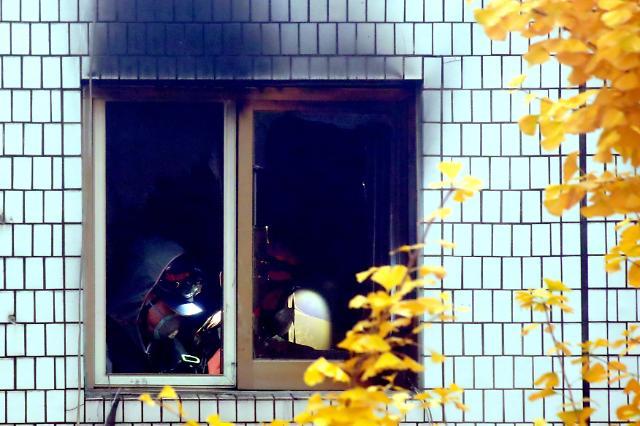 首尔钟路区某考试院起火 截至目前6人死亡12人受伤